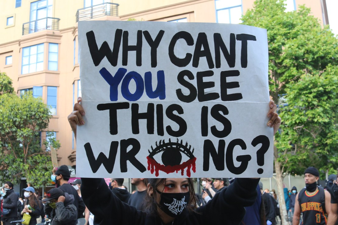 George Floyd protest in San Francisco