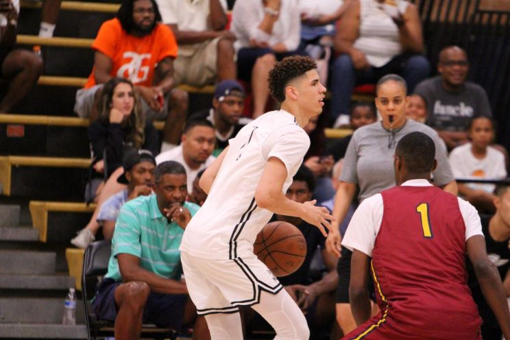 LaMelo Ball at the Drew League