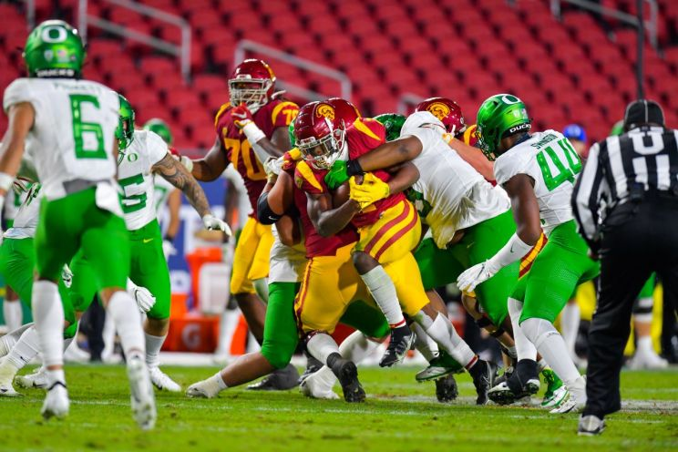 Oregon defeats USC to win the Pac-12 Championship