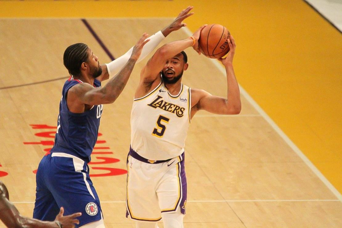 Los Angeles Lakers small forward Talen Horton-Tucker