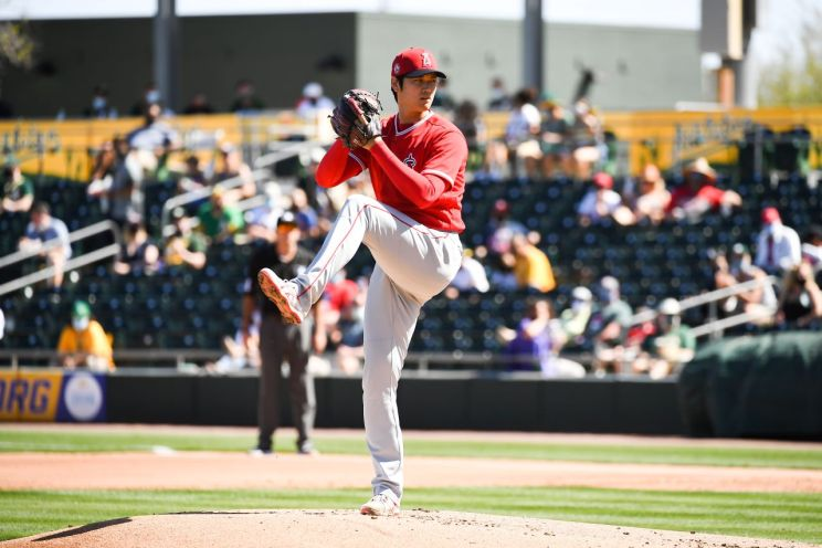 """Los Angeles Angels pitcher Shohei """"Sho Time"""" Ohtani is back at full strength after spending the last couple of seasons with limited playing due to injuries. Photo credit: Angels Baseball"""