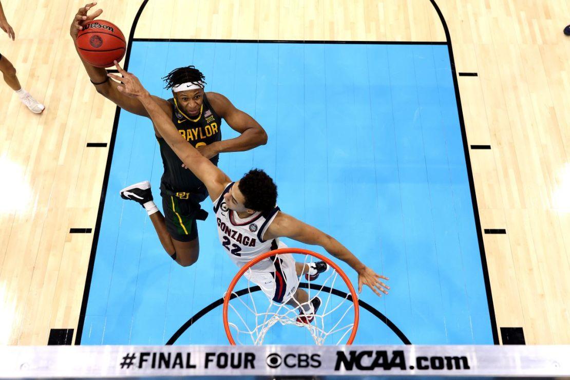 NCAA Tournament: Baylor against Gonzaga