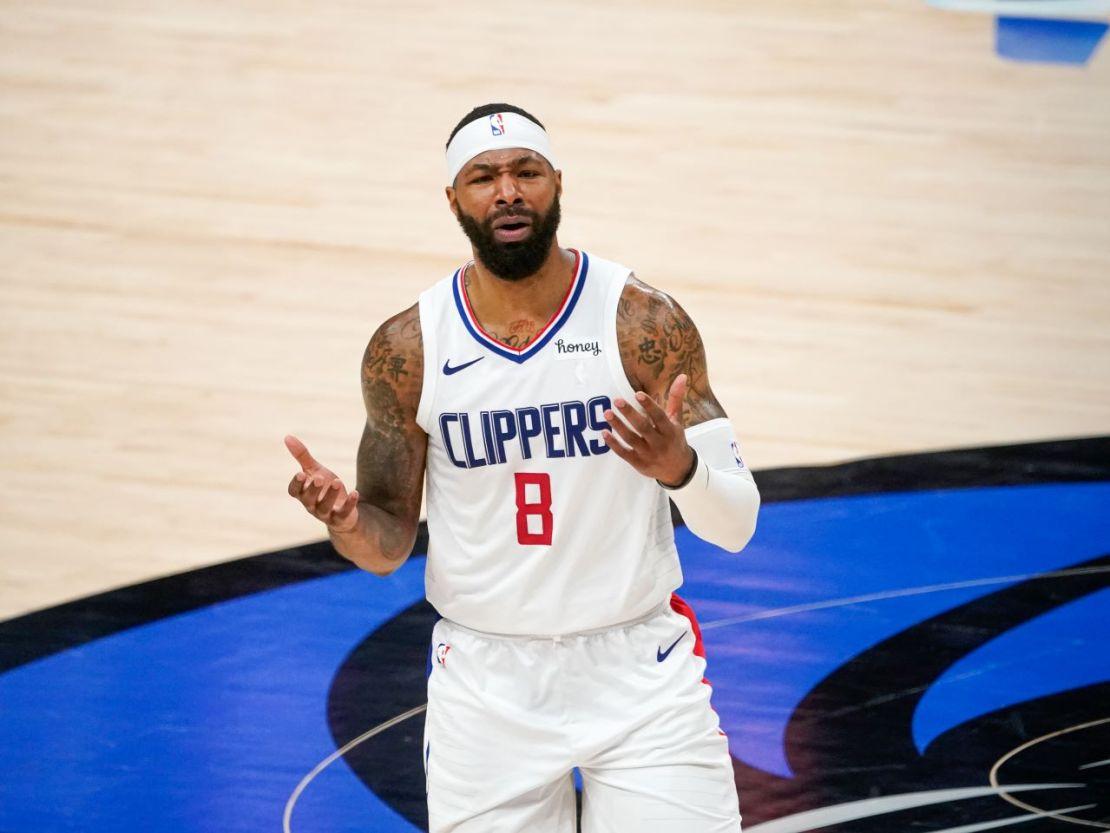 Los Angeles Clippers forward Marcus Morris Sr. (8). Photo credit: Michael Lark Photography