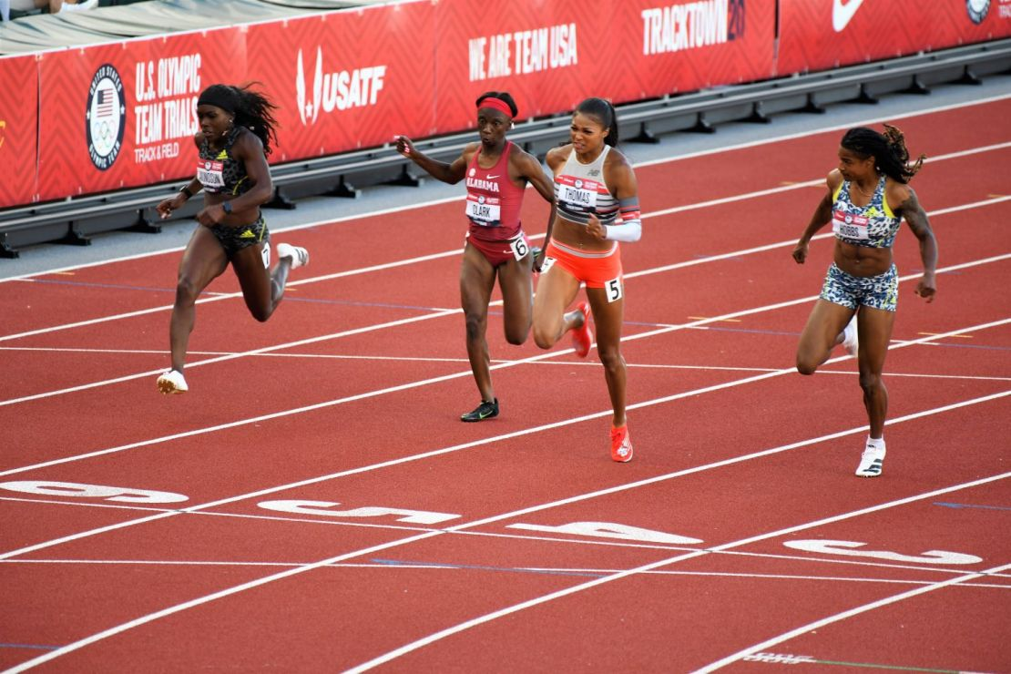 Day 1 of the U.S. Track and Field Olympic Trials. Photo: Paul Merca/Track Town USA