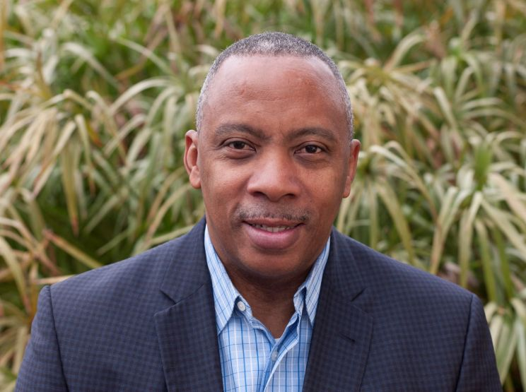 Dr. Calvin Mackie, founder of STEM Global Action, is the brother of Marvel star Anthony Mackie. Courtesy Photo