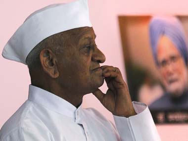 I am not willing to negotiate with PM: Anna Hazare