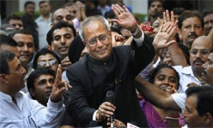 Congratulations pour in for Pranab Mukherjee from CMs, governors