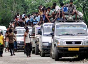 असम में हिंसा का तांडव जारी, अब तक 41 मरे