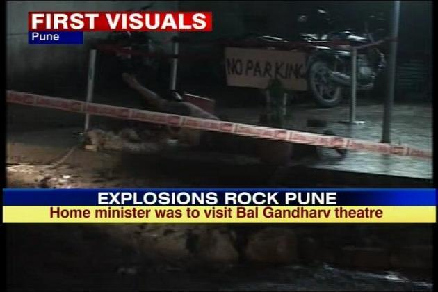 Pune Minor Blast, 2 injured, used Detonator