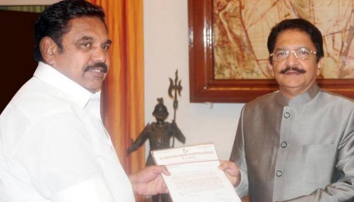 Tamil Nadu crisis LIVE: E Palaniswami, 5 AIADMK leaders meet Governor