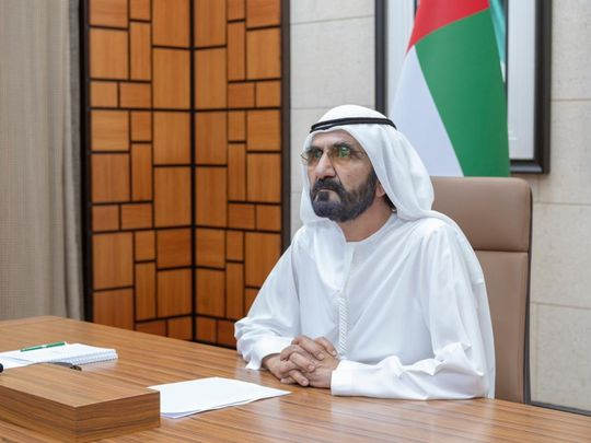 Mohammed bin Rashid calls for collective effort to tackle COVID-19 during G20 meeting