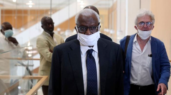 Former IAAF head Lamine Diack sentenced to 2 years in prison