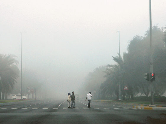 UAE weather: Foggy conditions in Abu Dhabi, Al Ain, increase in temperatures expected, sunny skies in Dubai