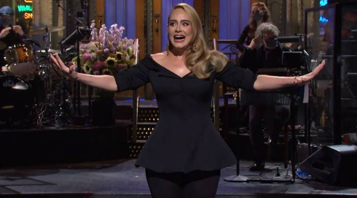 'I could only bring half of me': Adele jokes about weight loss while hosting SNL