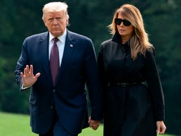 'Falling off the cliff': Experts say Trump's quick move to hospital could be sign of serious COVID illness