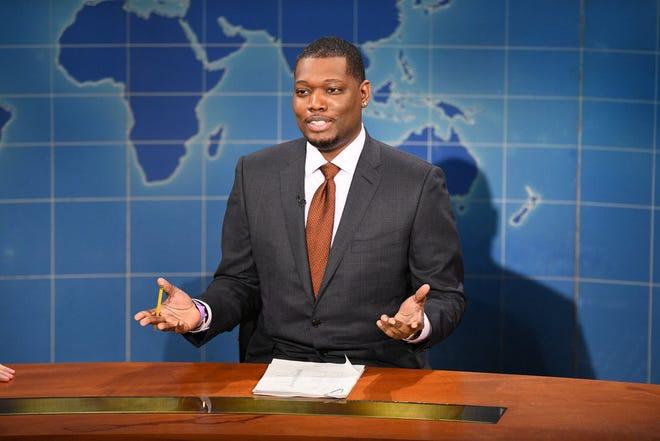 'SNL' 'Weekend Update' co-anchor Michael Che jokes NBC has 'a type': Bill Cosby, MattLauer, Donald Trump