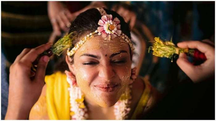 Actor shares beautiful picture from 'Haldi' ceremony