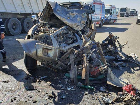 Emirati youth dies in Ras Al Khaimah car crash