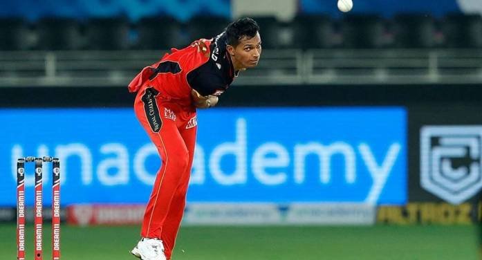 IPL 2020: Navdeep Saini doubtful against MI after split webbing in right hand