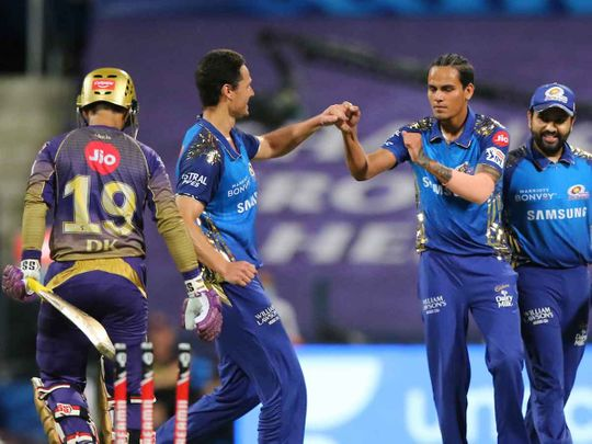 IPL 2020 in UAE: De Kock leads the way as Mumbai Indians thrash Kolkata Knight Riders – in pictures