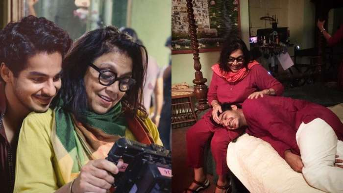 Ishaan Khatter shares 'A Suitable Boy' BTS photos to wish director Mira Nair on her 63rd birthday