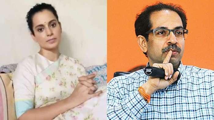 Kangana Ranaut hits back at Uddhav Thackeray for ganja fields comment