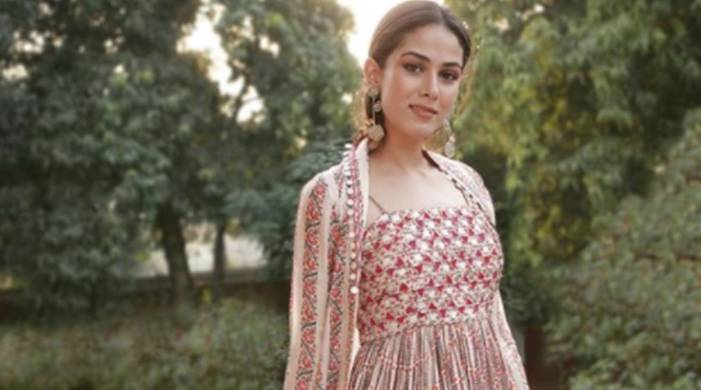 Lakme Fashion Week 2020: Mira Kapoor looks pretty in Punit Balana outfit