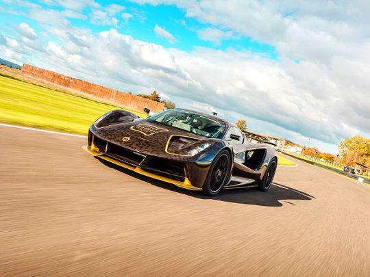 Lotus Evija hypercar makes dynamic debut in Goodwood
