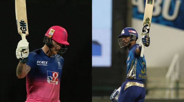 MI vs RR: Here's what stars of the night Ben Stokes and Hardik Pandya have to say