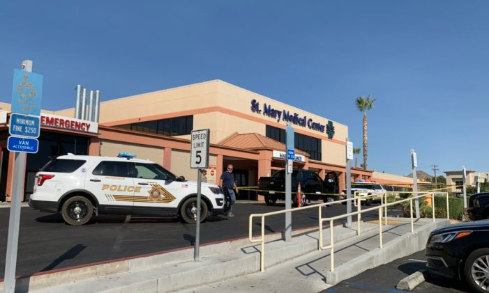 Man with gunshot wound taken to St. Mary's Hospital in Apple Valley Saturday