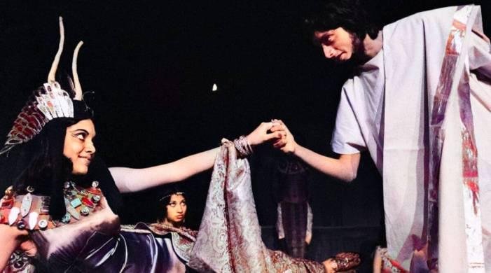 Mira Nair and Shashi Tharoor once played Cleopatra and Antony; see photo