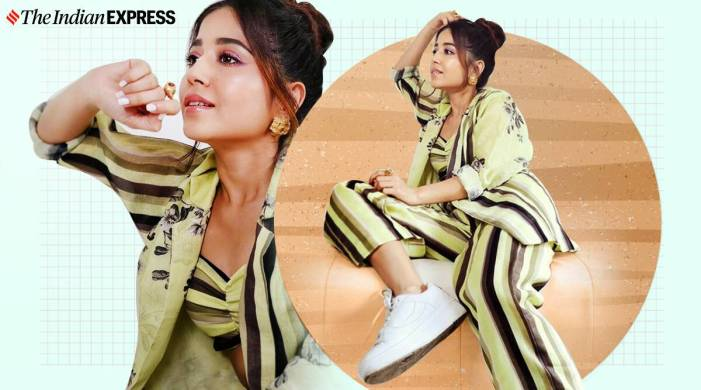 Mirzapur 2 promotions: Shweta Tripathi Sharma keeps it chic in a pantsuit