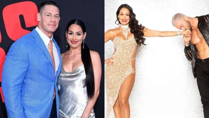Nikki Bella talks about ex-fiance John Cena, partner Artem Chigvintsev