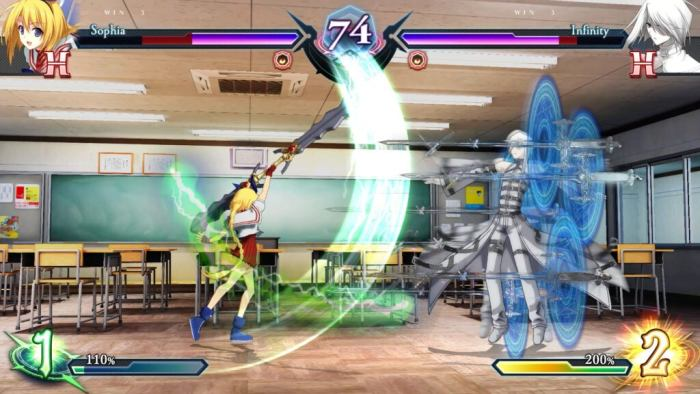 Omnia bring a classic anime fighter to PS4, Xbox One and Switch in 2021