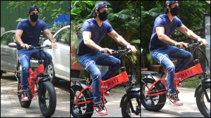 Ranbir Kapoor's new foldable e-bike gifted by Alia Bhatt costs a fortune; know how much