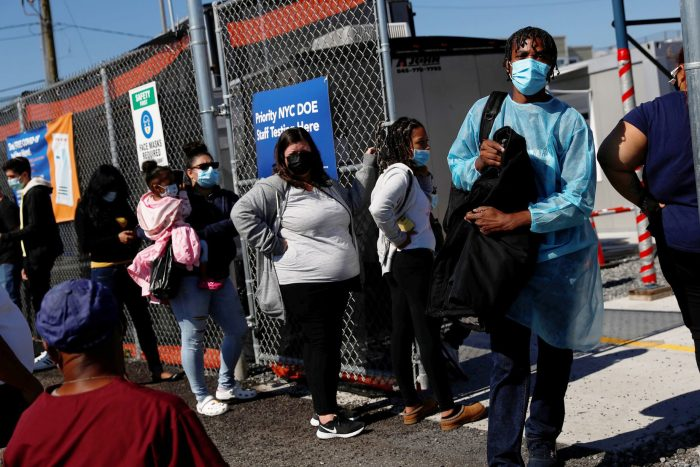U.S. sees highest number of new coronavirus cases in nearly two months