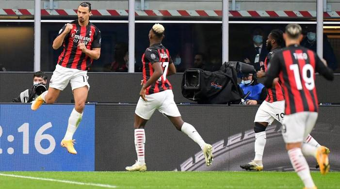 Zlatan Ibrahimovic's brace gives Milan derby win over Inter; Juventus drop points