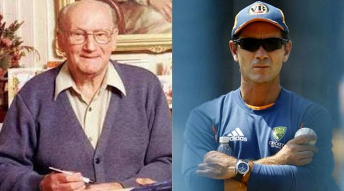 'I relied on the practice nets': When 23-year-old Justin Langer gets typed reply from Sir Don