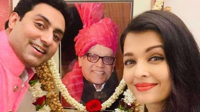 Aishwarya Rai Bachchan, Abhishek Bachchan remember late Krishnaraj Rai on his birthday