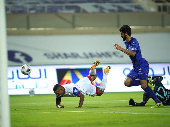 Alleged racial slur mars Sharjah's win in Arabian Gulf League