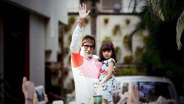 Amitabh Bachchan wishes granddaughter Aaradhya 'happy birthday' with priceless collage of photos, adorable note