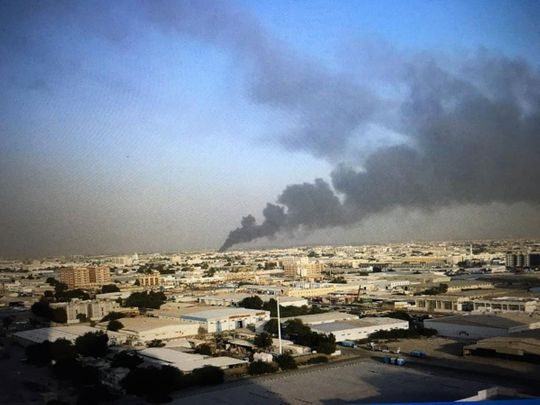 Fire erupts at warehouse for auto spare parts in Sharjah industrial area