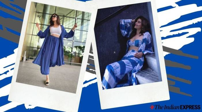 Karishma Tanna's wardrobe is all about stylish co-ord sets