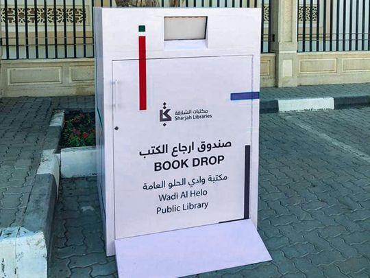 More Sharjah public libraries launch book dropbox service