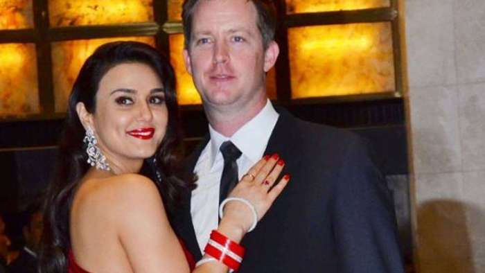 Preity Zinta shares 'Diwali selfie' with 'Pati Parmeshwar' Gene Goodenough