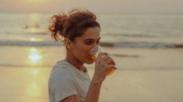 Rashmi Rocket: Taapsee is having this 'fat-burning' drink to combat pain from athletic training