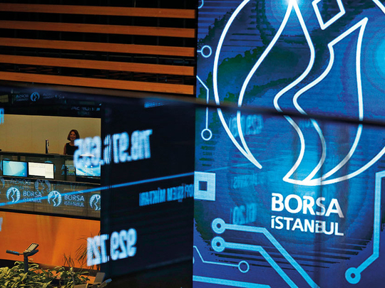 Record-busting Turkish stocks' fortunes lie with policy makers
