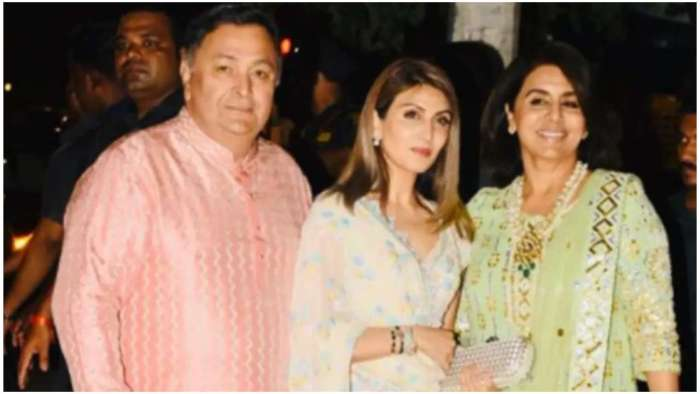 Rishi Kapoor's daughter Riddhima remembers him with throwback pic from last year's Diwali celebrations