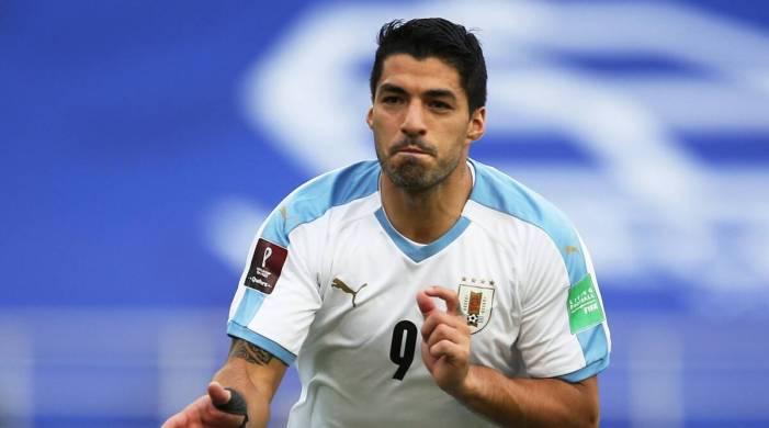Suarez, Cavani score in Uruguay win, Brazil overcome resilient Venezuela