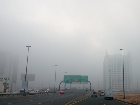UAE: Foggy conditions in Abu Dhabi, partly cloudy skies, mist formation expected on Tuesday morning in Abu Dhabi, Dubai, Sharjah and Ajman